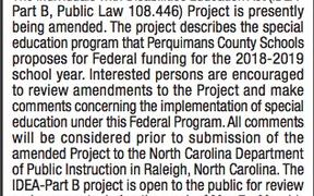 Public Notice Projects Open for Review